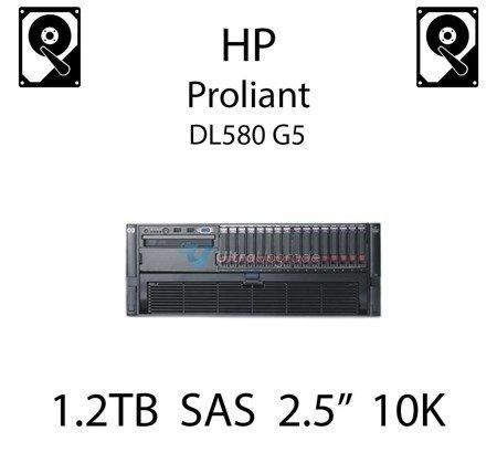 """1.2TB 2.5"""" dedykowany dysk serwerowy SAS do serwera HP ProLiant DL580 G5, HDD Enterprise 10k - 718291-001 (REF)"""