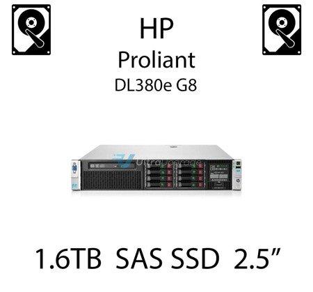 "1.6TB 2.5"" dedykowany dysk serwerowy SAS do serwera HP ProLiant DL380e G8, SSD Enterprise  - 762751-001 (REF)"