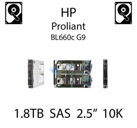 """1.8TB 2.5"""" dedykowany dysk serwerowy SAS do serwera HP ProLiant BL660c G9, HDD Enterprise 10k, 12Gbps - 791055-001 (REF)"""
