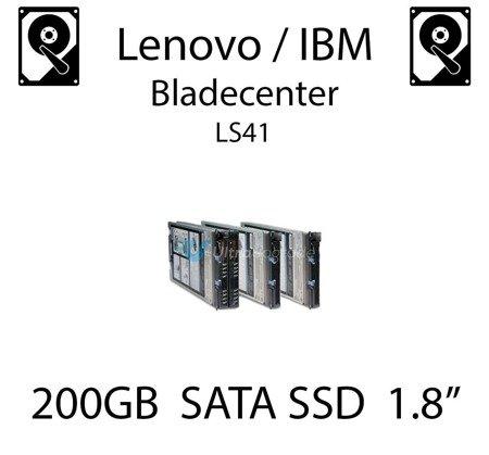 """200GB 1.8"""" dedykowany dysk serwerowy SATA do serwera Lenovo / IBM Bladecenter LS41, SSD Enterprise , 600MB/s - 41Y8366"""