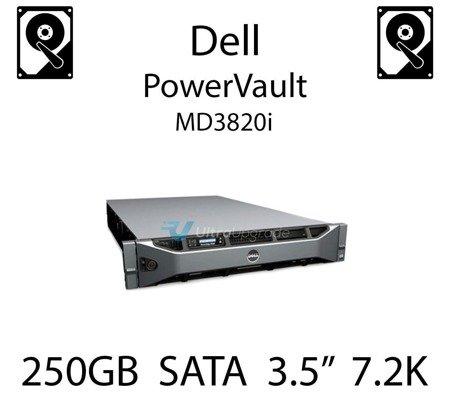"""250GB 3.5"""" dedykowany dysk serwerowy SATA do serwera Dell PowerVault MD3820i, HDD Enterprise 7.2k, 320MB/s - TM727"""