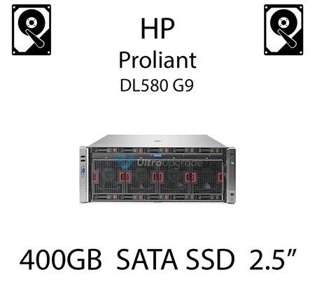 """400GB 2.5"""" dedykowany dysk serwerowy SATA do serwera HP Proliant DL580 G9, SSD Enterprise , 6Gbps - 691866-B21 (REF)"""