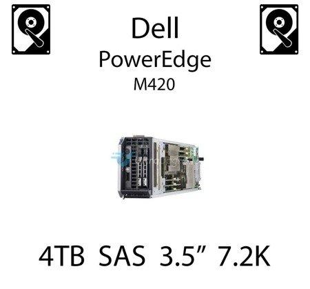 """4TB 3.5"""" dedykowany dysk serwerowy SAS do serwera Dell PowerEdge M420, HDD Enterprise 7.2k, 6Gbps - 0202V7"""