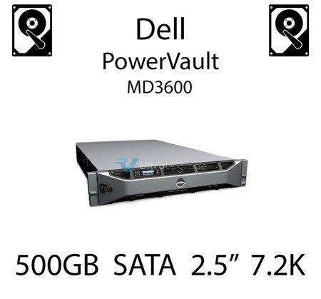 """500GB 2.5"""" dedykowany dysk serwerowy SATA do serwera Dell PowerVault MD3600, HDD Enterprise 7.2k, 300MB/s - J770N"""