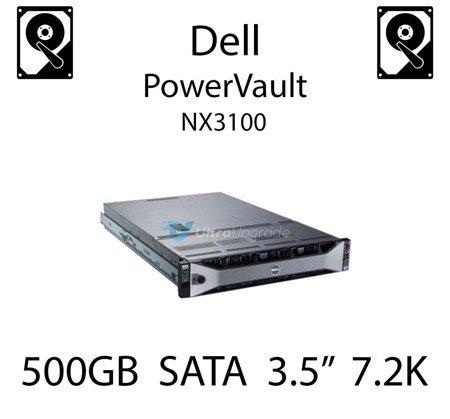 """500GB 3.5"""" dedykowany dysk serwerowy SATA do serwera Dell PowerVault NX3100, HDD Enterprise 7.2k, 600MB/s - C3YJM"""