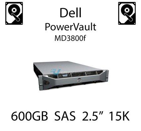 """600GB 2.5"""" dedykowany dysk serwerowy SAS do serwera Dell PowerVault MD3800f, HDD Enterprise 15k - RHRR4"""