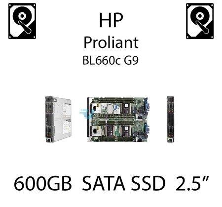 """600GB 2.5"""" dedykowany dysk serwerowy SATA do serwera HP ProLiant BL660c G9, SSD Enterprise , 6Gbps - 739898-B21 (REF)"""