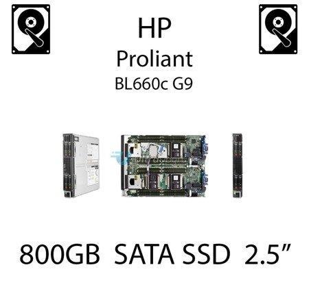 """800GB 2.5"""" dedykowany dysk serwerowy SATA do serwera HP ProLiant BL660c G9, SSD Enterprise  - 804671-B21 (REF)"""