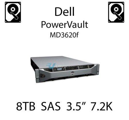 """8TB 3.5"""" dedykowany dysk serwerowy SAS do serwera Dell PowerVault MD3620f, HDD Enterprise 7.2k, 12Gbps - GKWHP"""
