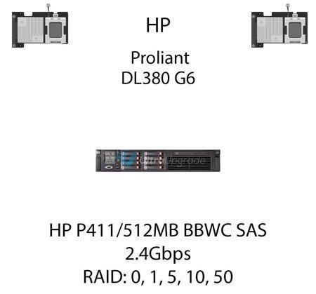 Kontroler RAID HP P411/512MB BBWC SAS, 2.4Gbps - 462832-B21