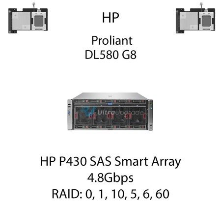 Kontroler RAID HP P430 SAS Smart Array, 4.8Gbps - 698530-B21