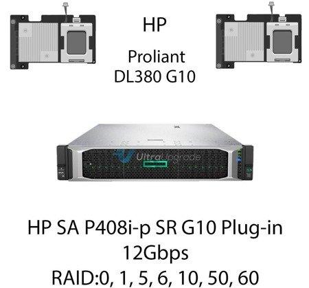 Kontroler RAID HP SA P408i-p SR G10 Plug-in, 12Gbps (SAS) / 6Gbps (SATA) - 830824-B21
