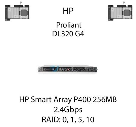 Kontroler RAID HP Smart Array P400 256MB, 2.4Gbps - 405132-B21